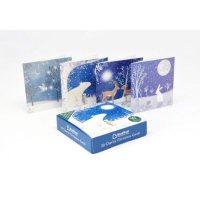 Snow Scene Animals Charity Box X20  Christmas Cards