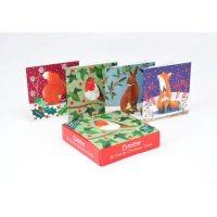 Woodland Animals Charity Box X20 Christmas Cards