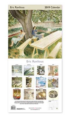 2019 Eric Ravilious Wall Calendar