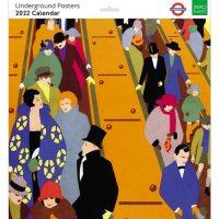 2022 London Underground Posters Wall Calendar