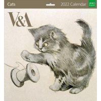 2022 V&A Cats Wall Calendar