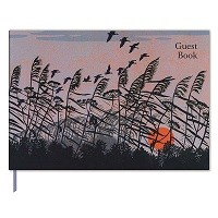 Sunset Flight Guest Book