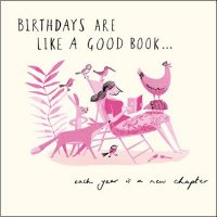 A New Chapter Birthday Card