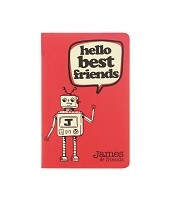 Coral Jotter Pad - James & Friends