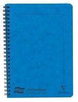 Blue A5 Lined Wirebound Notebook