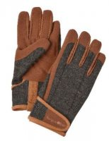 Tweed gardening gloves in size L/XL