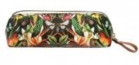 Dark Floral Pencil Case