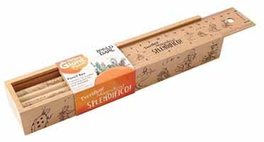James & The Giant Peach Wooden Pencil Box & Pencils