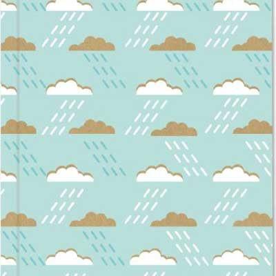 A5 Blue Clouds Exercise Book