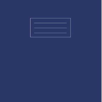A4 Navy Exercise Book
