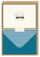 Typewriter Notecard Set