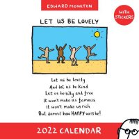 2022 Edward Monkton Wall Calendar