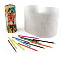 Jungle Colouring Pencil Set