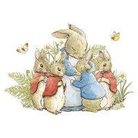 Beatrix Potter Bunnies with Mum