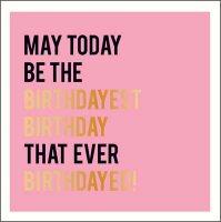 Birthdayest Birthday Alice Scott Card