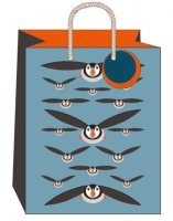 Puffins Large Gift Bag