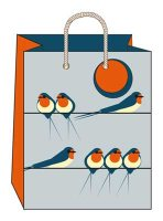 Swallows On Line Medium