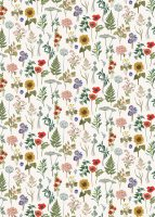 Sunflower Floral 3m Roll Wrap