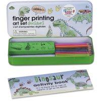 Dinosaur Finger Printing Set