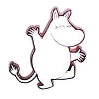 Moomin Pin Badge