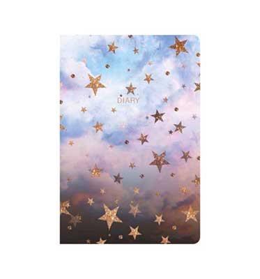 Nikki Cloudy Stars Desk Diary 2019-2020