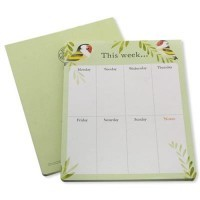 Goldfinches - Weekly Planner Pad