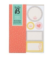 Busy B Floral Sticky Notes