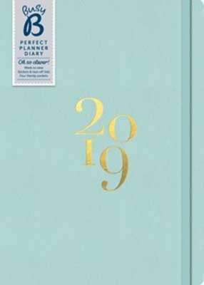 Perfect Planner Blue Diary 2019
