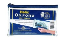 Helix Oxford Clear Pencil Case