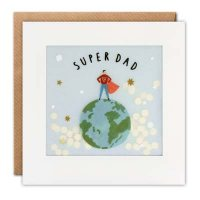 Super Dad Shakies Father's Day Card