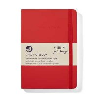 Red Make Your Mark Notebook