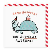 Turtley Awesome Happy Birthday