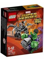 LEGO (R) Superheroes Mighty Micros: Hulk Vs. Ultron
