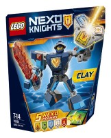 LEGO (R) Nexo Knights Battle Suit Clay