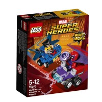 LEGO (R) Marvel Superheroes Mighty Micros: Wolverine Vs. Magneto