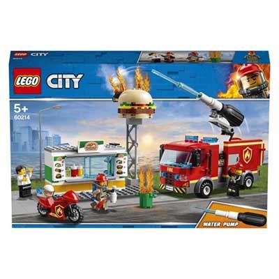 LEGO (R) Burger Bar Fire Rescue