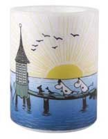 Moomin Sunset Candle