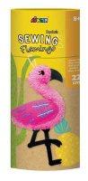 Flamingo Sewing Keychain