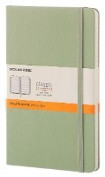 Willow Green Large Ruled Notebook Hard