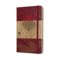 Red Weekly Large Harry Potter Diary 2018-2019