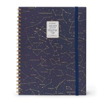 Stars A4 Trio Spiral Notebook