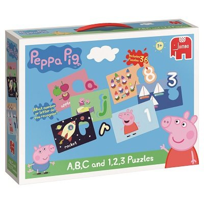 Peppa Pig Abc & 123 Puzzles