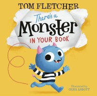 There's a Monster in Your Book (Hardback)