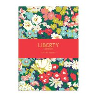 Liberty Floral Sticky Notes Hard Cover Book