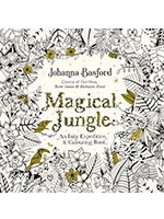 Magical Jungle: An Inky Expedition & Colouring Book (Paperback)