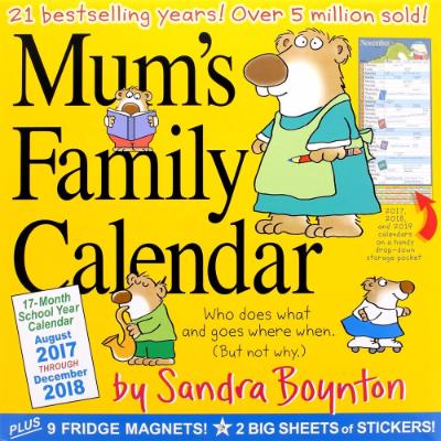 Mum's Family Calendar 2018
