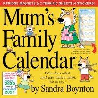 2021 Mums Family Calendar