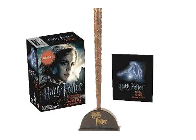 Harry Potter Hermione's Wand with Sticker Kit: Lights Up! (Paperback)