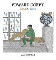 Edward Gorey: Cats & Kids 2020 Mini