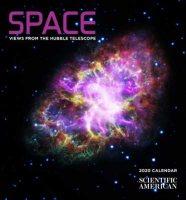 2020 Space Hubble Mini Wall Calendar